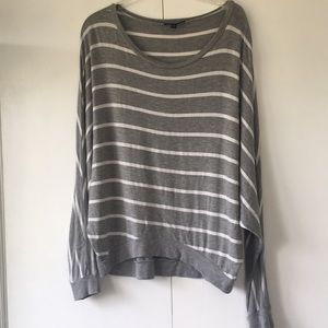 Tops - Super Soft grey stretch shirt size s